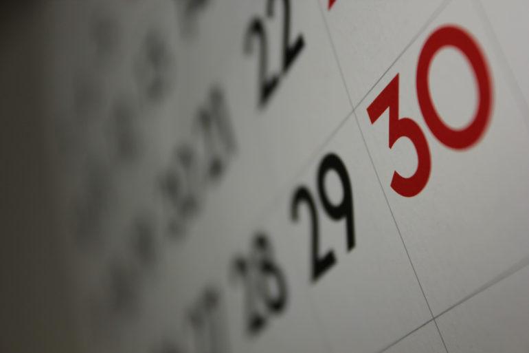 Planowanie czasu z kalendarzem
