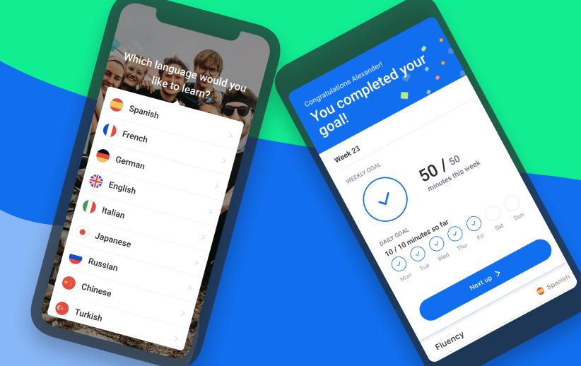 Busuu - Language Learning - iOS & Android app